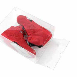 sparkle box dropdown - Boite transparente de rangement pour chaussures